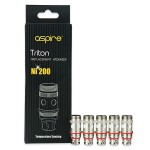 Aspire Triton Replacement Atomizer Head - Ni 200 - 5pcs
