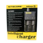 Nitecore Intellicharger i2 for 18350, 18650